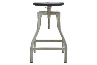 Barová stolička Thunder, 60-74 cm, sivé mango