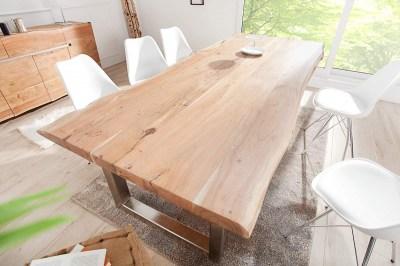 Dizajnový jedálenský stôl Massive, 300 cm, akácia