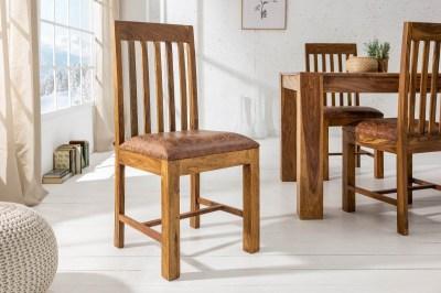 Dizajnová stolička Timber, sheesham