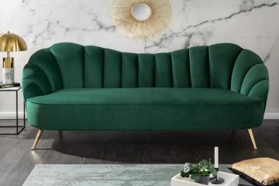 Dizajnová sedačka Adalia 220 cm zelená