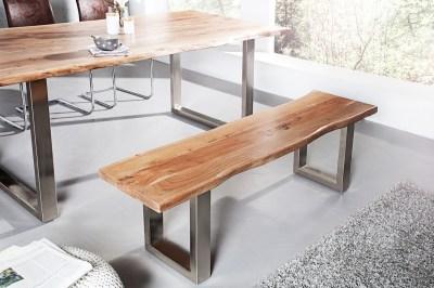 Dizajnová lavica Massive 160 cm Akácia