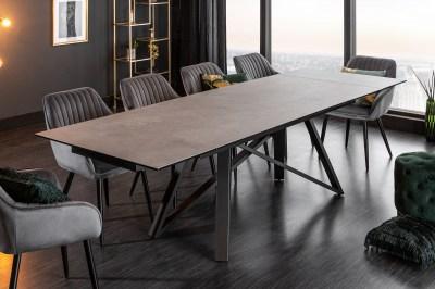 Jedálenský stôl Callen 180-220-260 cm keramika betón
