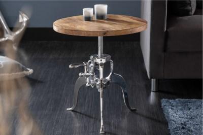 Dizajnový konferenčný stolík Adohi 45-62 cm Mango