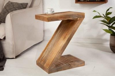 Odkladací stolík Adalet Z 45 cm Mango