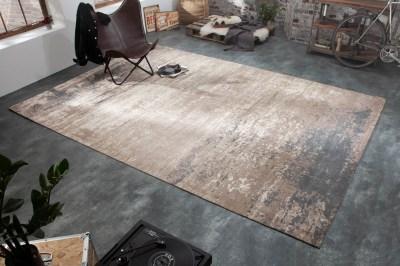 Dizajnový koberec Rowan 350 x 240 cm sivo-béžový