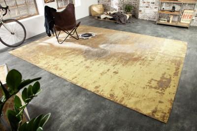 Dizajnový koberec Rowan 350 x 240 cm hrdzavo-hnedý