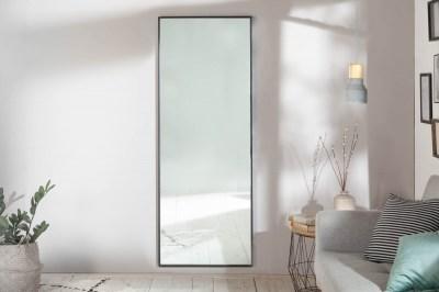 Nástenné zrkadlo Acotas 160 cm čierne