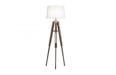Dizajnová stojanová lampa Dawson 158 cm biela