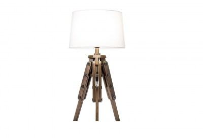 Dizajnová stolová lampa Dawson 59 cm biela