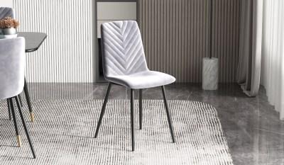 Dizajnová stolička Argentinas sivá