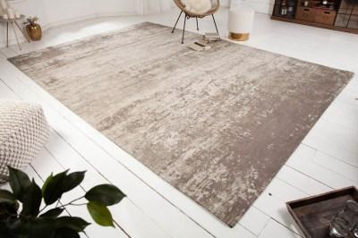 Dizajnový koberec Rowan 350 x 240 cm béžovo-sivý
