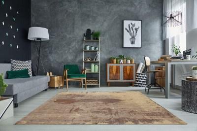 Dizajnový koberec Batik 240x120 cm / piesková