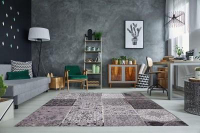 Dizajnový koberec Lessie 240x160 cm / antracitová