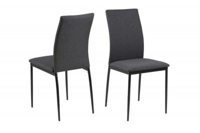 Dizajnová jedálenská stolička Midena, sivá