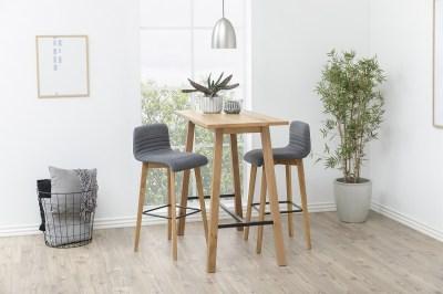 Moderná barová stolička Alano, antracitová
