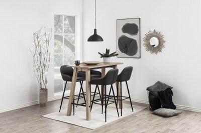 Moderná barová stolička Alard, holubičia sivá