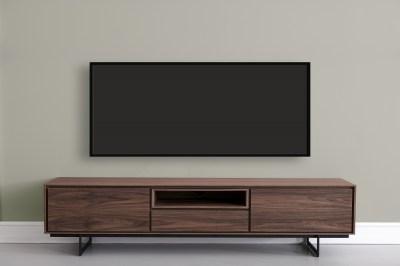 Moderný TV stolík Aage, vlašský orech
