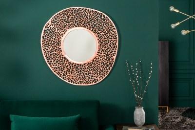 Nástenné zrkadlo Lance L 112 cm medené