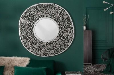 Nástenné zrkadlo Lance L 112 cm strieborné