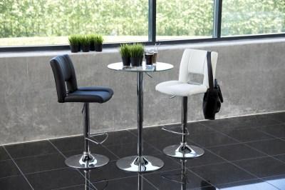 Okrúhly barový stôl 60 cm Nicola sklo
