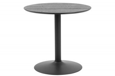 Okrúhly barový stôl Neesha 80 cm čierny