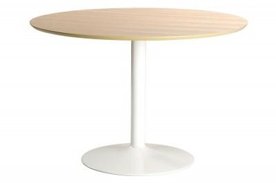 Okrúhly jedálenský stôl Neesha 110 cm dub