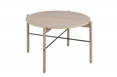 Okrúhly konferenčný stolík Abimael, 80 cm