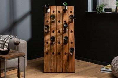 Regál na víno Lyric 107 cm recyklované drevo