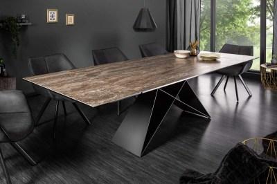 Rozkladací jedálenský stôl Brock hrdza 180-260 cm