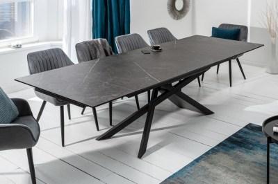 Rozťahovací keramický stôl Natasha 180-220-260 cm grafit