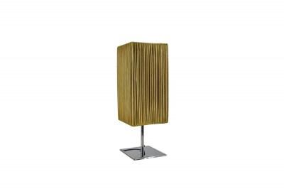 Dizajnová stolná lampa Laney 44 cm zlatá