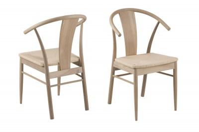 Štýlová jedálenská stolička Alioth, dub
