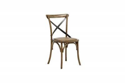 Štýlová jedálenská stolička Nikeesha, antická