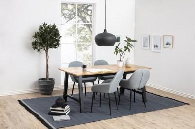 Štýlová stolička Alard, popolavá zelená