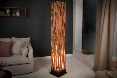 Štýlová stojanová lampa Artist 175 cm longan