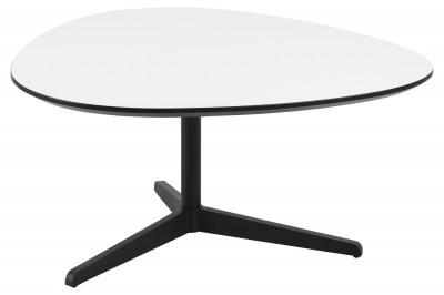 Štýlový konferenčný stolík Ahab, 84 cm, biela