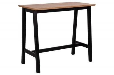 Štýlový barový stôl Nazy 120 cm svetlý dub