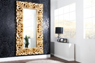 Luxusné zrkadlo Veneto Zlaté Antik 180cm