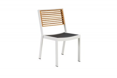 Záhradná jedálenská stolička HIGOLD - York Dining Chair White/Black
