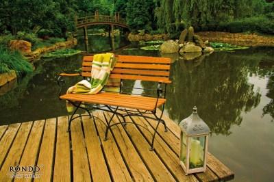Záhradná lavica Maja