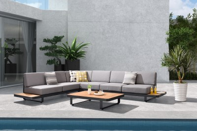 Záhradná rohová zostava HIGOLD II - New Polo Corner Lounge Olefin