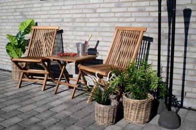 Záhradný jedálenská stolička Lana teak