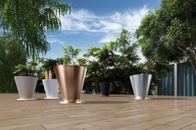 Záhradný stolík HIGOLD - ICOO White
